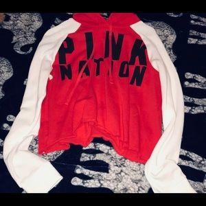 PINK Victoria secret crop top sweater